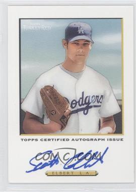 2005 Topps Turkey Red Certified Autograph Issue White #TRA-SE - Scott Elbert /200