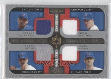 2005 Ultimate Collection - [???] #UQ-ZMWP - Carlos Zambrano, Greg Maddux, Kerry Wood, Mark Prior /10