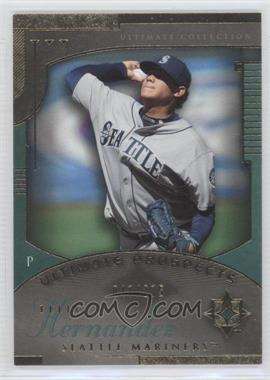 2005 Ultimate Collection [???] #224 - Felix Hernandez /275
