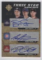 Ben Sheets, Mark Prior, Roy Oswalt /20