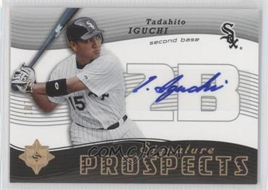 2005 Ultimate Signature Edition - [Base] #182 - Tadahito Iguchi /125