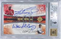 Ken Griffey Jr., Willie McCovey /250 [BGS 9]
