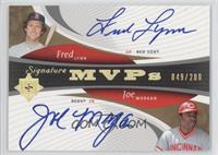 Fred Lynn, Jose Molina, Joe Morgan /200