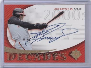 2005 Ultimate Signature Edition Signature Decade #SD-KG - Ken Griffey Jr.