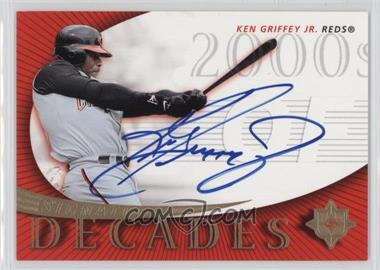 2005 Ultimate Signature Edition Signature Decade #SD-KG - Ken Griffey Jr.
