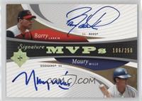 Barry Larkin, Maury Wills /250