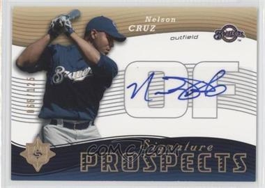 2005 Ultimate Signature Edition #160 - Nelson Cruz /125