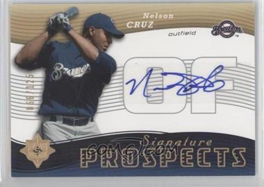 2005 Ultimate Signature Edition #160 - Nelson Cruz /125