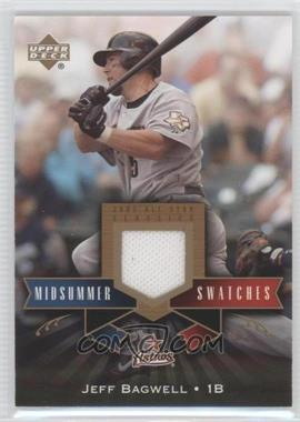 2005 Upper Deck All-Star Classics Midsummer Swatches #MS-JB - Jeff Bagwell