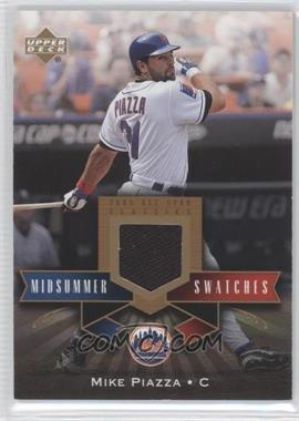 2005 Upper Deck All-Star Classics Midsummer Swatches #MS-MP - Mike Piazza