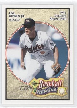 2005 Upper Deck Baseball Heroes - [Base] #11 - Cal Ripken Jr.