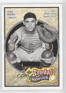 2005 Upper Deck Baseball Heroes - [Base] #99 - Yogi Berra
