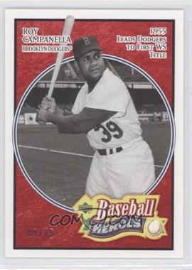 2005 Upper Deck Baseball Heroes Red #178 - Roy Campanella /75