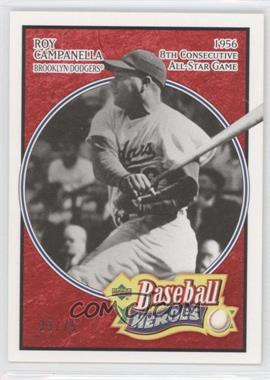 2005 Upper Deck Baseball Heroes Red #179 - Roy Campanella /75