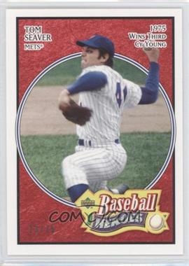 2005 Upper Deck Baseball Heroes Red #28 - Tom Seaver /75