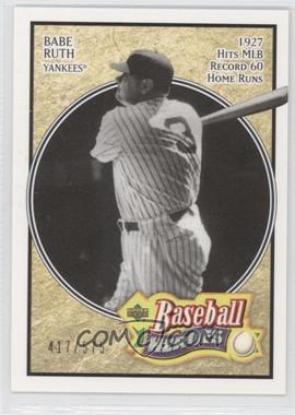 2005 Upper Deck Baseball Heroes #102 - Babe Ruth /575