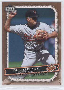 2005 Upper Deck Classics - [Base] #17 - Cal Ripken Jr.