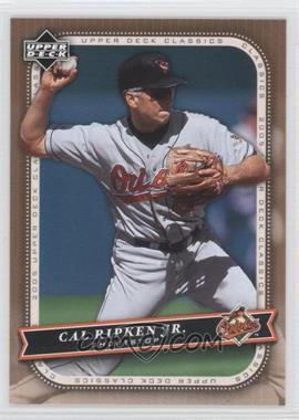 2005 Upper Deck Classics [???] #17 - Cal Ripken