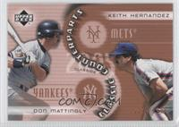 Doug Mathis, Keith Hernandez, Don Mattingly /1999