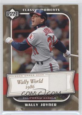 2005 Upper Deck Classics [???] #CM-WJ - Wally Joyner