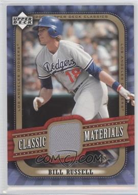 2005 Upper Deck Classics [???] #MA-BR - Bill Russell