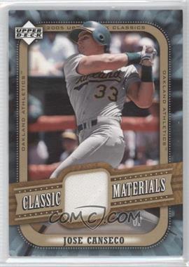 2005 Upper Deck Classics [???] #MA-CA - Jose Canseco