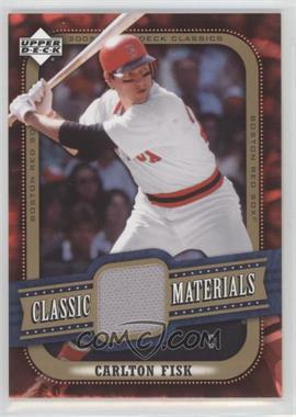 2005 Upper Deck Classics [???] #MA-FI - Carlton Fisk