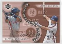 Darryl Strawberry, Lenny Dykstra /1999
