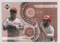 Tony Perez, Ken Griffey Sr. /1999