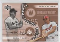 Frank Howard, Boog Powell /1999