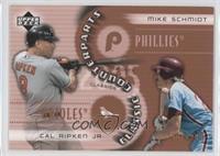 Cal Ripken Jr., Mike Schmidt /1999
