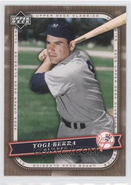 2005 Upper Deck Classics #100 - Yogi Berra