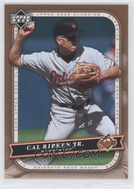 2005 Upper Deck Classics #17 - Cal Ripken Jr.