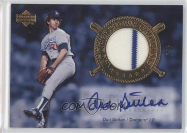 2005 Upper Deck Hall of Fame [???] #CO-1 - Don Sutton /5