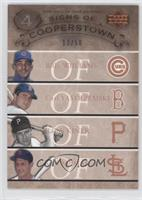Billy Williams, Carl Yastrzemski, Ray King, Stan Musial /50
