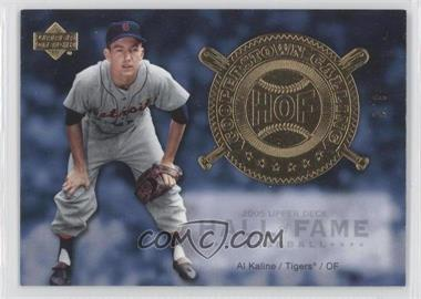 2005 Upper Deck Hall of Fame Cooperstown Calling Gold #CO-AK2 - Al Kaline /5