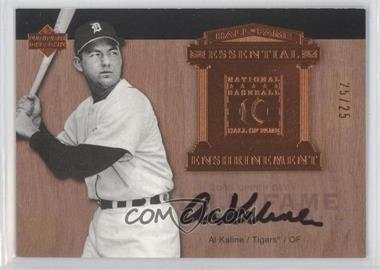 2005 Upper Deck Hall of Fame Essential Enshrinement Autographs [Autographed] #EE-AK1 - Al Kaline /25