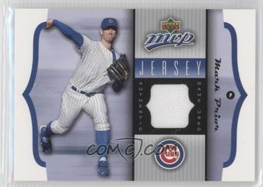 2005 Upper Deck MVP [???] #GU-MP - Mark Prior