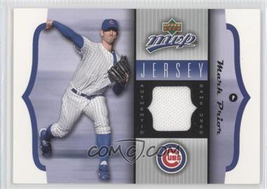 2005 Upper Deck MVP Jersey #GU-MP - Mark Prior