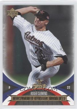 2005 Upper Deck Mini Jersey Collection [???] #97 - Roger Clemens