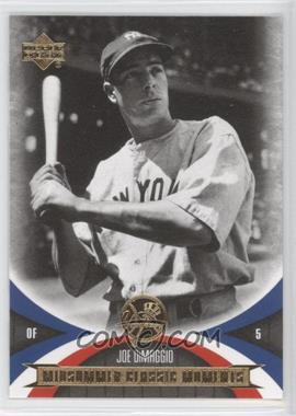 2005 Upper Deck Mini Jersey Collection #90 - Joe DiMaggio