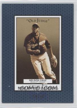 2005 Upper Deck Origins Old Judge Blue #257 - Nelson Cruz /50
