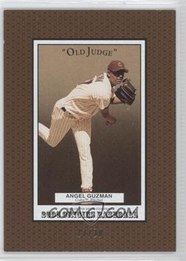 2005 Upper Deck Origins Old Judge Gold #176 - Angel Guzman /20