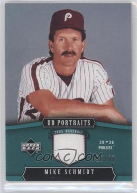 2005 Upper Deck Portraits [???] #74 - Mike Schmidt /99