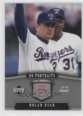 2005 Upper Deck Portraits [???] #98 - Nolan Ryan