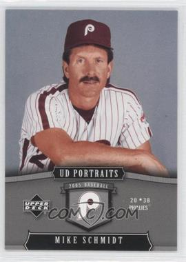 2005 Upper Deck Portraits #74 - Mike Schmidt