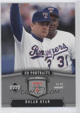 2005 Upper Deck Portraits #98 - Nolan Ryan