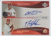 Chad Cordero, Nick Johnson /99