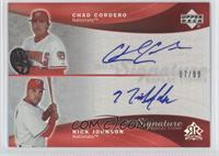 Chad Cordero, Nick Johnson /99