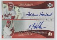 Frank Howard, Nick Johnson /99